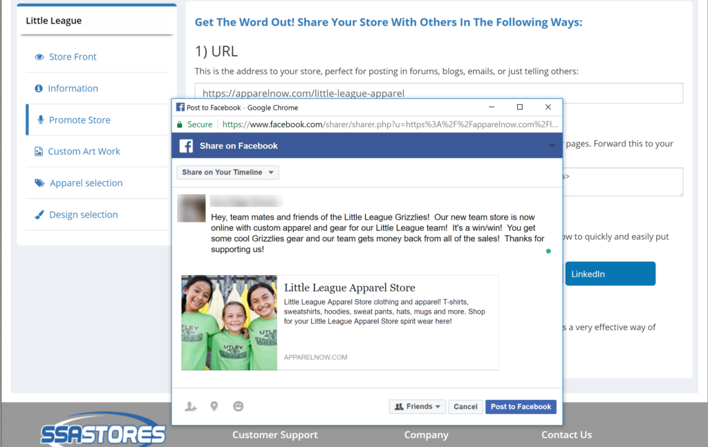 how to promote your store on Facebook