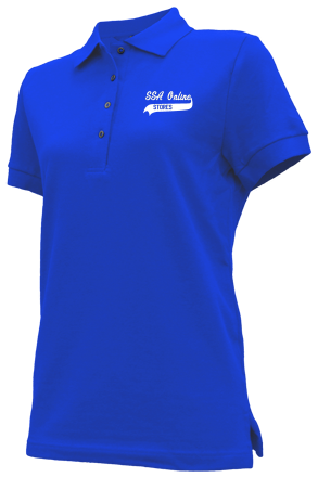 Women's Embroidered Polo Shirts - SSA Online Stores