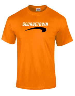 NCAA Georgetown College Tigers T-Shirt V2